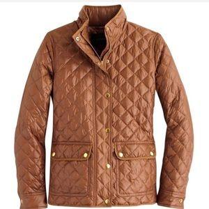 NWT j.crew downtown puffer jacket